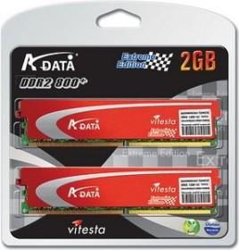 ADATA XPG + Series DIMM Kit 2GB, DDR2-800, CL4-4-4-12 (AD2800E001GMOU2K/AX2U800PB1G4-2P)