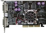 AOpen Aeolus FX5500-DVD256, GeForceFX 5200, 256MB DDR, 2x DVI, TV-out, AGP (91.05210.34V)