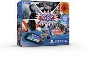 Sony PlayStation Vita Slim Wi-Fi Mega Pack Bundle Action schwarz