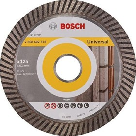 Bosch Expert for Universal Turbo Diamanttrennscheibe 125x2.2mm, 1er-Pack (2608602575)