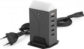Technaxx TE12 5-Port USB LED Tischladegerät (4615)