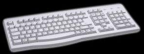 Ultron UST-100 keyboard, PS/2, DE (9481)