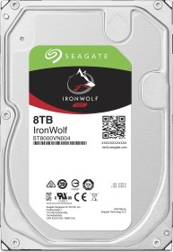 Seagate IronWolf NAS HDD 8TB, SATA 6Gb/s (ST8000VN004)