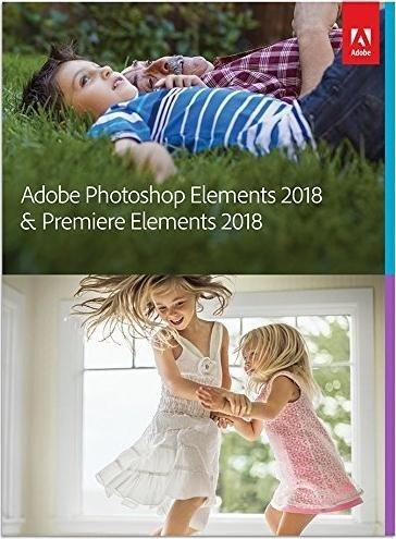 Adobe Photoshop Elements 2018 und Premiere Elements 2018 (deutsch) (PC/MAC) (65281601)
