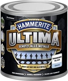 Hammerite Ultima Metallschutz-Lack außen glänzend verkehrsweiß 250ml (5379709)