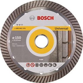 Bosch Expert for Universal Turbo Diamanttrennscheibe 150x2.2mm, 1er-Pack (2608602576)