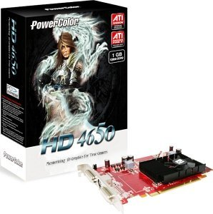 PowerColor Radeon HD 4650, 1GB DDR2, 2x DVI, TV-out (R73B-PI3)
