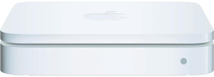 Apple AirPort Extreme Basisstation (4G), 300Mbps (MIMO) Dual Band (simultan) (MC340Z/A)