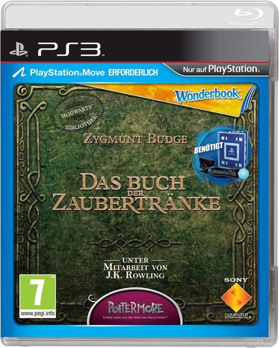 Wonderbook: Das Buch der Zaubertränke (Move) (deutsch) (PS3)