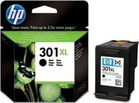 HP Printhead with ink 301 XL black (CH563EE)