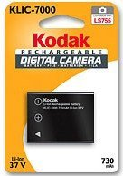 Kodak KLIC-7000 Li-Ion battery (3920717/3951514)