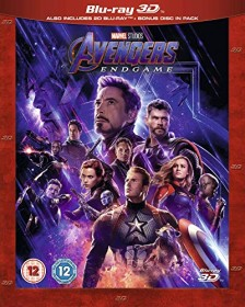 Avengers: Endgame (3D) (Blu-ray) (UK)