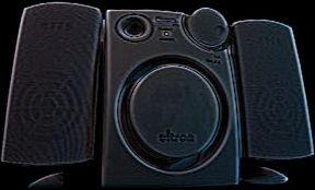 Ultron Quintius loudspeaker 420W, black (8257)