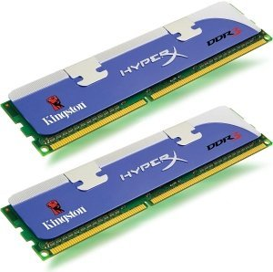 Kingston HyperX DIMM XMP Kit  8GB PC3-12800U CL9-9-9-27 (DDR3-1600) (KHX1600C9D3K2/8GX)