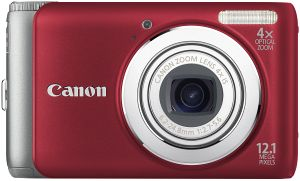 Canon PowerShot A3100 IS red (4257B012)
