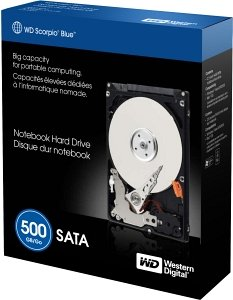 Western Digital WD Scorpio Blue 500GB, SATA 3Gb/s, retail (WDBABC5000ANC-ERSN/WD5000BEVTRTL2)