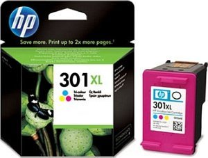 HP Printhead with ink Nr 301 XL coloured (CH564EE)