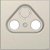 Merten Zentralplatte für Antennensteckdosen sahara (MEG4123-6033)