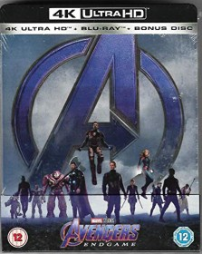 Avengers: Endgame (4K Ultra HD) (Special Edition) (Blu-ray) (UK)