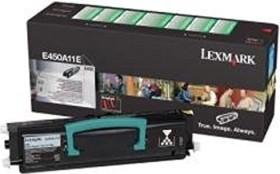 Lexmark Return Toner E450A11E black