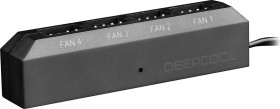 DeepCool FH-04 Fan Hub, Lüftersteuerung 4-fach (DP-F04PWM-HUB)