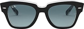 Ray-Ban RB2186 State Street 49mm black/blue gradient (RB2186-12943M)