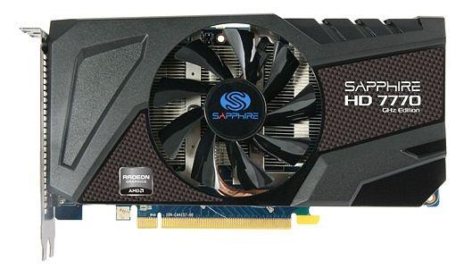 Sapphire Radeon HD 7770 GHz Edition OC, 1GB GDDR5, DVI, HDMI, DP, lite retail (11201-20-20G)
