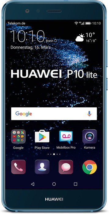 Huawei P10 Lite Single-SIM 32GB/4GB blau