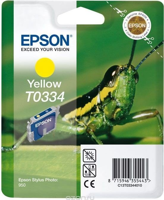 Epson T0334 ink yellow (C13T03344010)