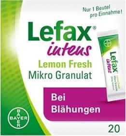 Bayer Lefax intens Lemon Fresh Mikro Granulat Beutel, 20 Stück