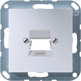 Jung Serie A Abdeckung geschraubt, aluminium (A 569-1 NWE AL)