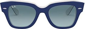 Ray-Ban RB2186 State Street 49mm blue/blue gradient (RB2186-12993M)