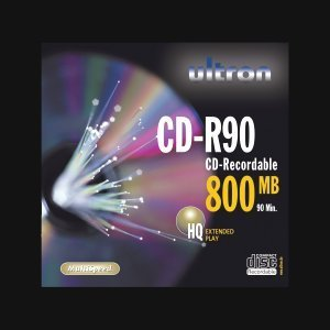 Ultron CD-R 90min/800MB, 10-pack