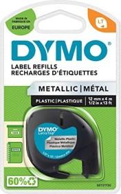 Dymo LetraTag 12mm, schwarz/silber (91208/S0721730)