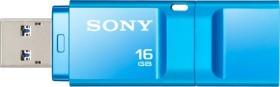 Sony X-Series blau 16GB, USB-A 3.0 (USM16GXL)
