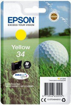 Epson ink 34 yellow (C13T34644010)