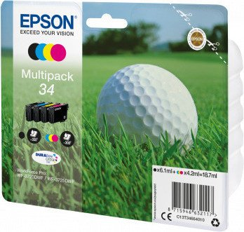 Epson ink 34 multipack (C13T34664010)