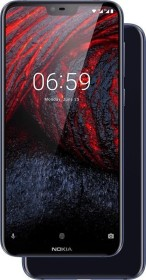 Nokia 6.1 Plus Single-SIM blau