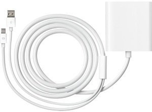 Apple mini DisplayPort/dual link-DVI adapter (MB571Z/A)