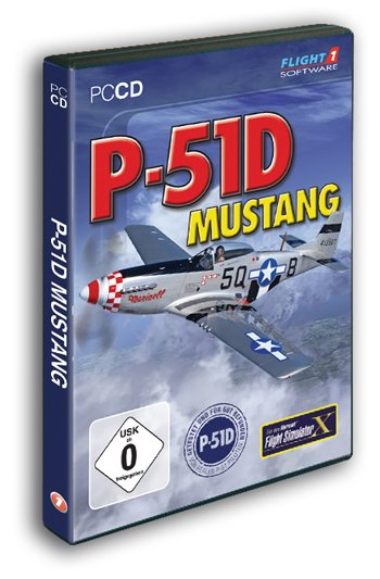 Flight Simulator X - P-51D Mustang (Add-on) (englisch) (PC)