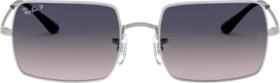 Ray-Ban RB1969 Rectangle 1969 54mm silver/blue-grey gradient (RB1969-914978)
