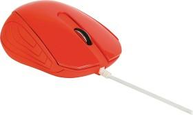 Sweex MI1180 Desktop Mouse London rot, USB (NPMI1180-03)