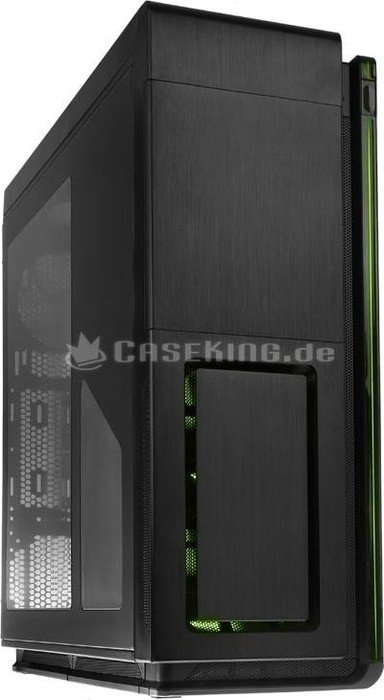 Phanteks Enthoo Primo SE black/green, acrylic window (PH-ES813P_SGR)