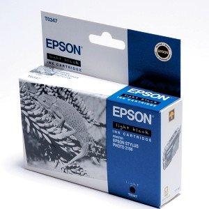 Epson T0347 Tinte schwarz hell (C13T03474010)