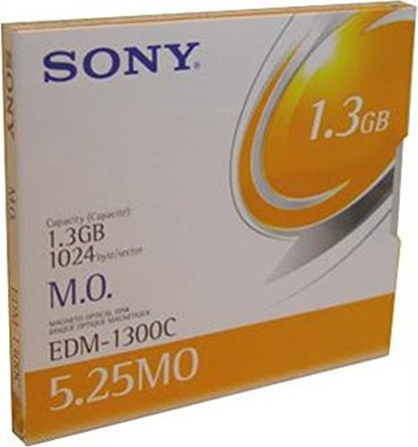 "Sony MO-Disk 5.25"" RW, 1.3GB (EDM1300N) -- via Amazon Partnerprogramm"