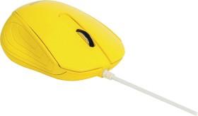 Sweex MI1180 Desktop Mouse Barcelona gelb, USB (NPMI1180-05)