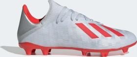 adidas X 19.3 FG silver met./hi-res red/ftwr white (Herren) (F35382)
