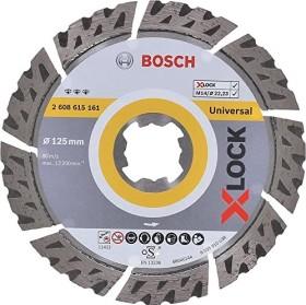 Bosch X-LOCK Best for Universal Diamanttrennscheibe 125x2.4mm, 1er-Pack (2608615161)