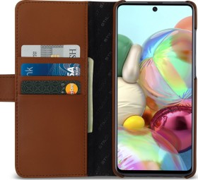 Stilgut Talis Wallet Case für Samsung Galaxy A71 braun (B086SQ7HCK)