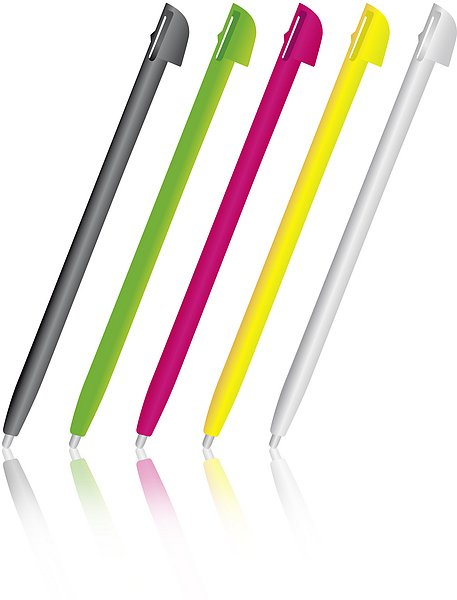 Speedlink pilot Touch Pens, multicolour (WiiU)